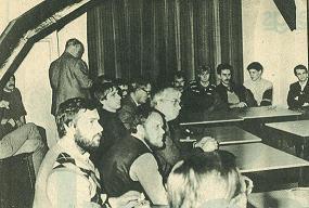 De oprichtingsvergadering van VERON A29 op 23 november 1983