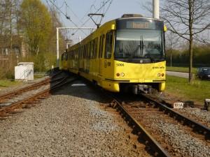 Welkom bij VERON afdeling Nieuwegein; de sneltram is karakteristiek voor de stad