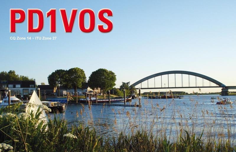 Dhr. H. Vos (PD1VOS) is nu lid van afdeling Nieuwegein