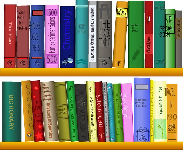 De bibliotheek van VERON afdeling Nieuwegein