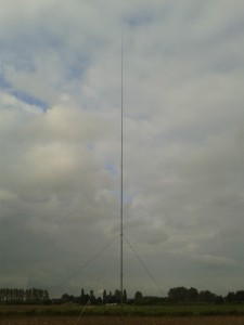 5/8 vertikale rondstraler voor de 15m band.