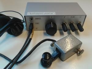 QRP-transceiver voor de 30m band, output ongeveer 1-2 watt, op basis van een ontwerp van PA2OHH.
