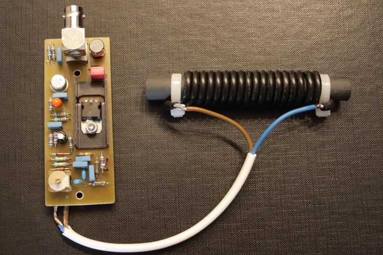 Een inductieve actieve ontvang antenne voor de 80m band
