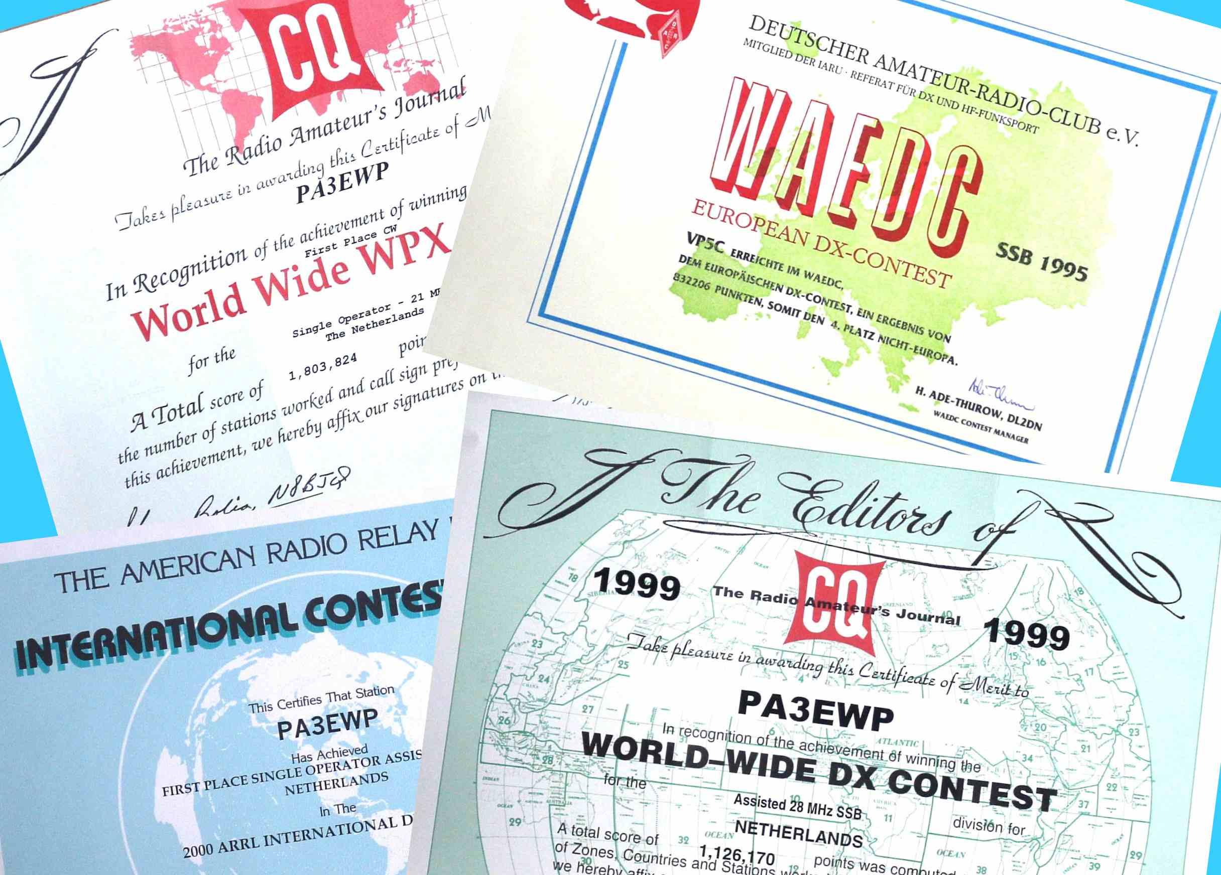 Verzamelen: Vele certificaten te behalen!