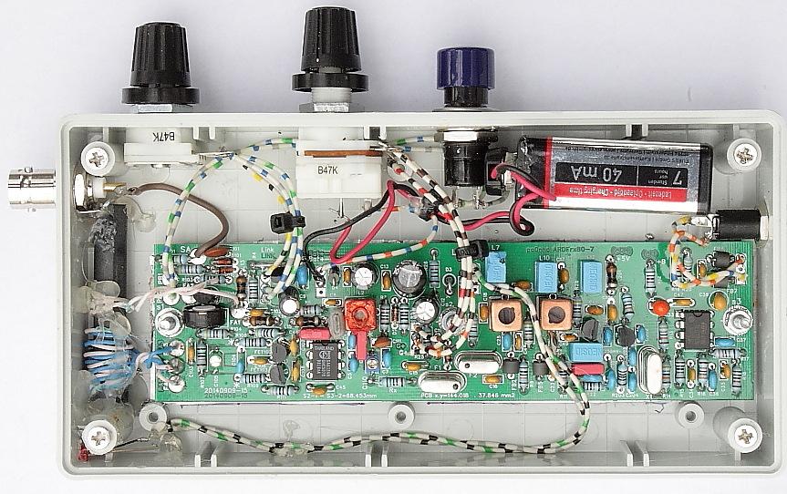 ARDFRx80-7-17 :3.5 - 3.63 MHz ARDF receiver