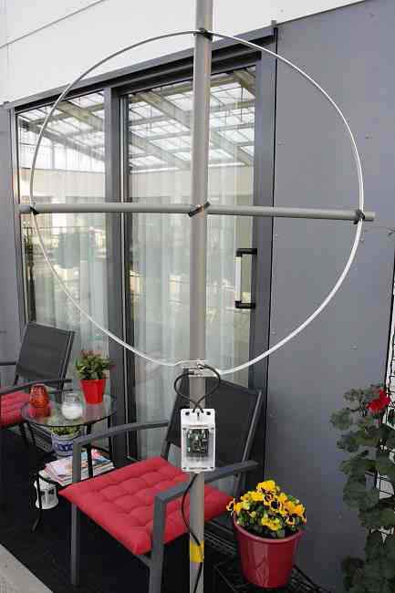 Klein, actief, breedband ontvang raam
