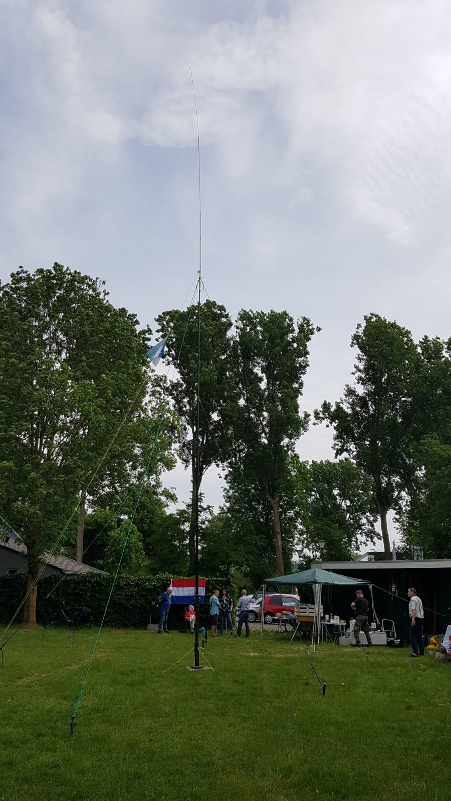Mast 18 meter hoog